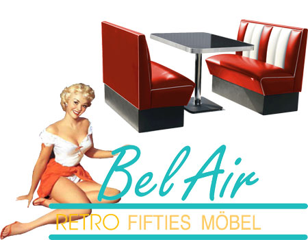 BelAir Retro Fifties Diner Moebel