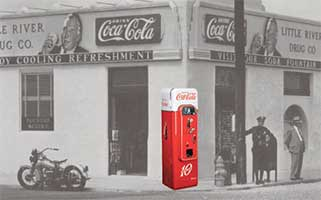 Coca Cola Machine Vendo 44