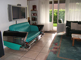 Route 66 Store - - 1957 Chevrolet Bel Air Car Couch