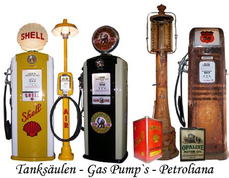 Route 66 Store -Diner Möbel, Diner Furniture, Tanksäulen, GasPumps ...