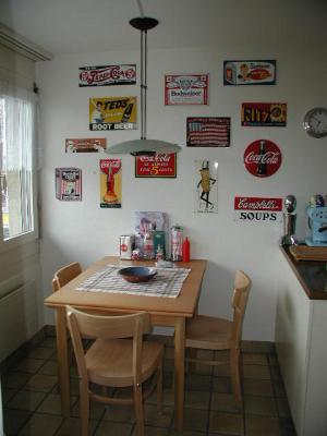 Route 66 Store -Retro / 50`s Küchen Einrichtungen