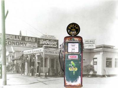 Route 66 Store - - Old Vintage Gaspump Gallery
