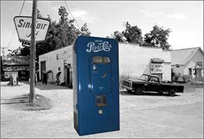 Pepsi Cola Machine