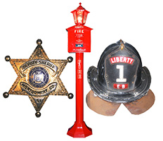 Police & Fire Nostalgic Memorabilia & Collectibles