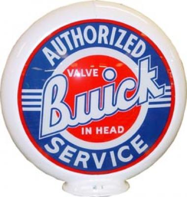 Buick Authorized Service Glass Globe 34cm in Diameter