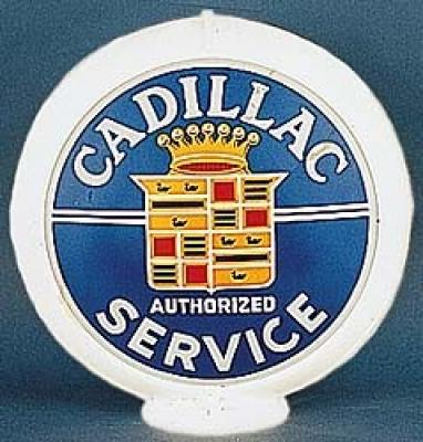Cadillac Authorized Service Glass Globe 34cm in Diameter