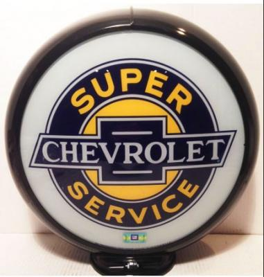 Chevrolet Super Service Glass Globe 34cm in Diameter