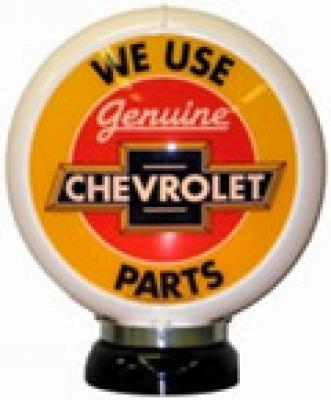 Chevrolet Genuine Parts Glass Globe 34cm in Diameter