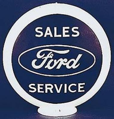 Ford Service Glass Globe