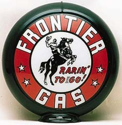Frontier Gasoline Glass Globe