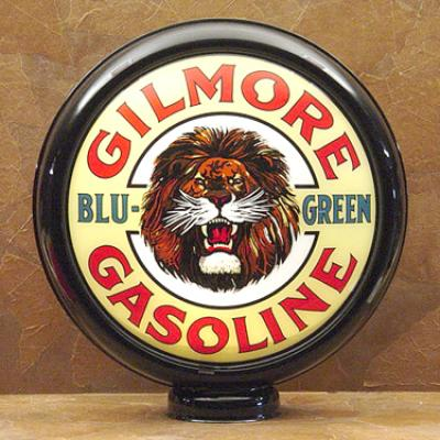 Gilmore Blue Green Gasoline Glass Globe