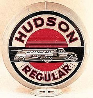 Hudson Regular Gasoline Glass Globe