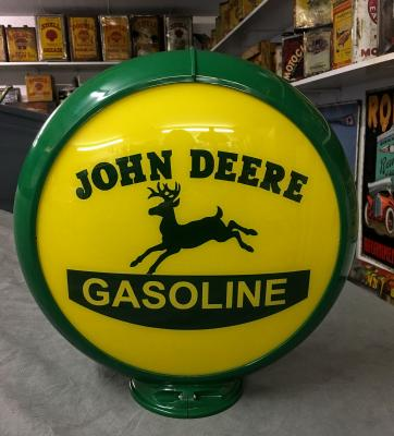 John Deere Glass Globe