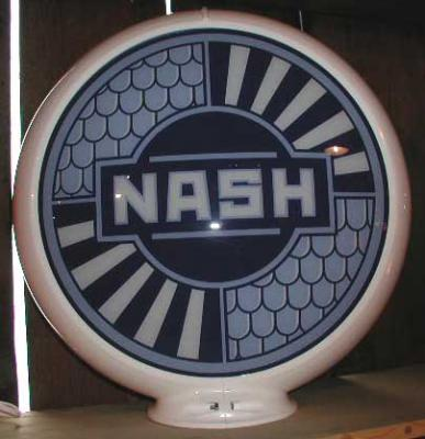 Nash Glass Globe