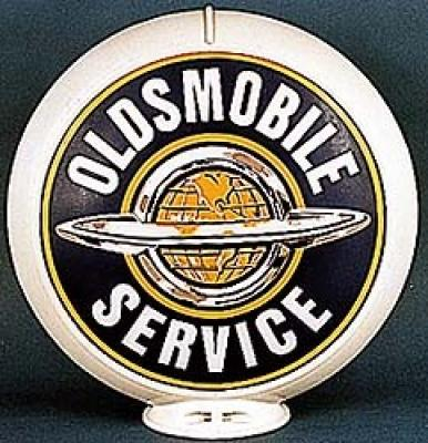 Oldsmobile Service Glass Globe