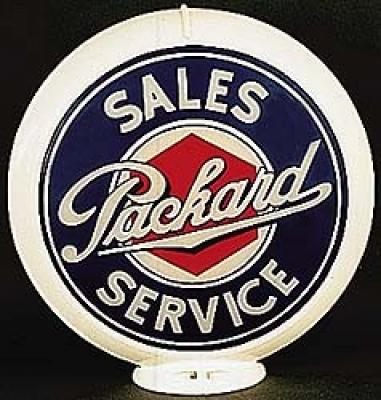Packard Service Glass Globe