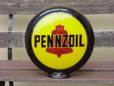 Pennzoil Glass Globe