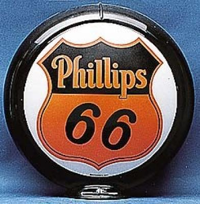 Philipps 66 Gasoline Glass