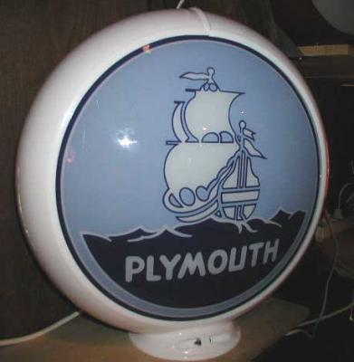 Plymouth Glass Globe
