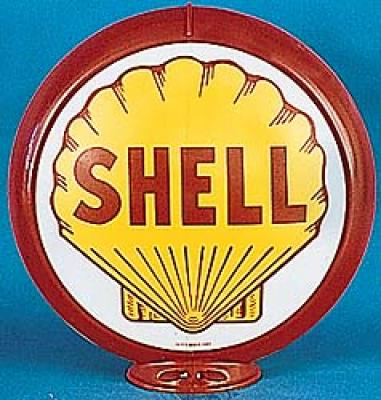 Shell Gasoline Glass Globe ST01