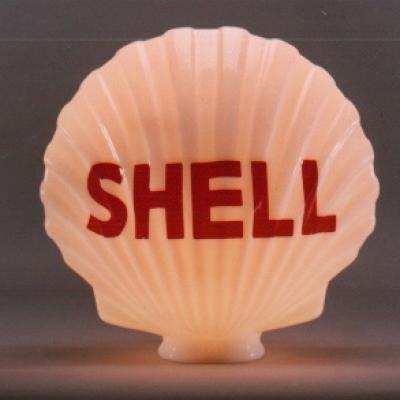 Shell Gasoline Full Glass Clam US01