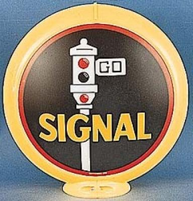 Signal Gasoline Glass Globe