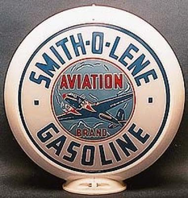 Smitholene Gasoline Glass Globe