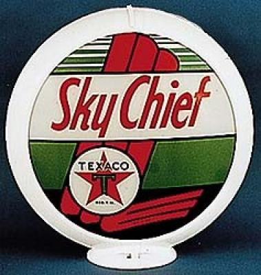 Texaco Sky Chief Gasoline Glass Globe
