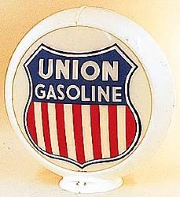 Union Gasoline Glass Globe
