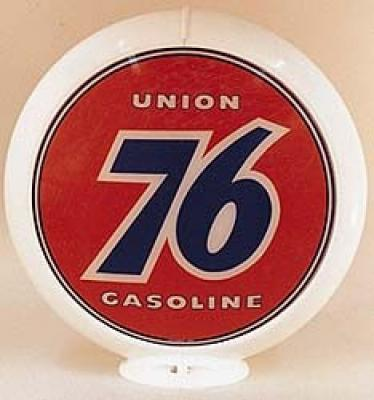 Union 76 Gasoline Glass Globe